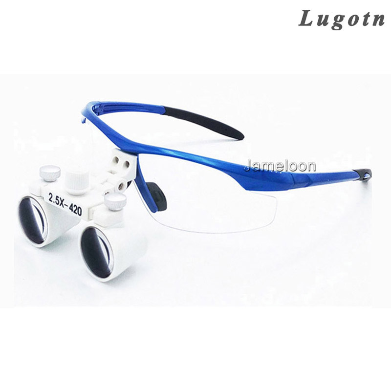 2 5x Magnify Dental Magnifier Medical Equipment Antifog
