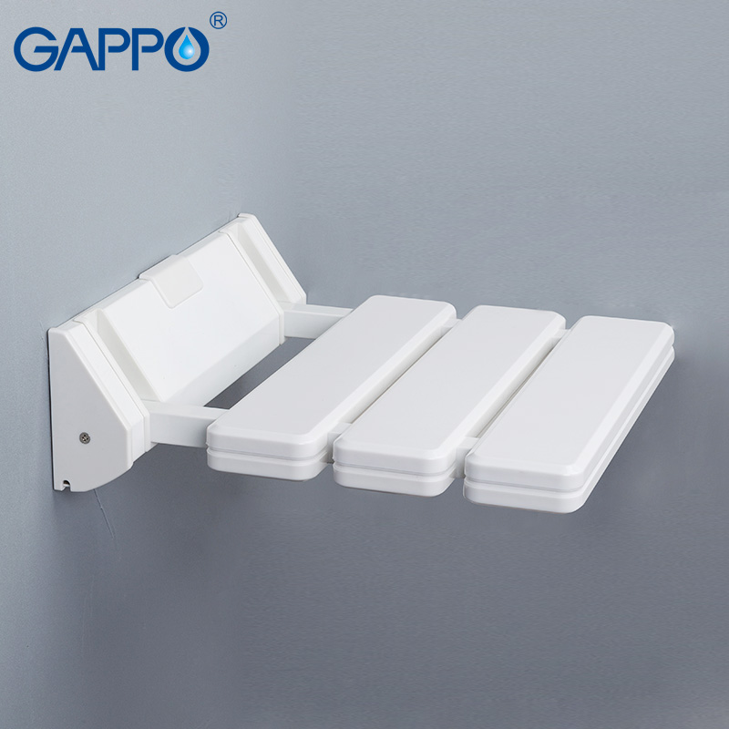 Gappo Wall Mounted Folding Shower Chairs For Elderly