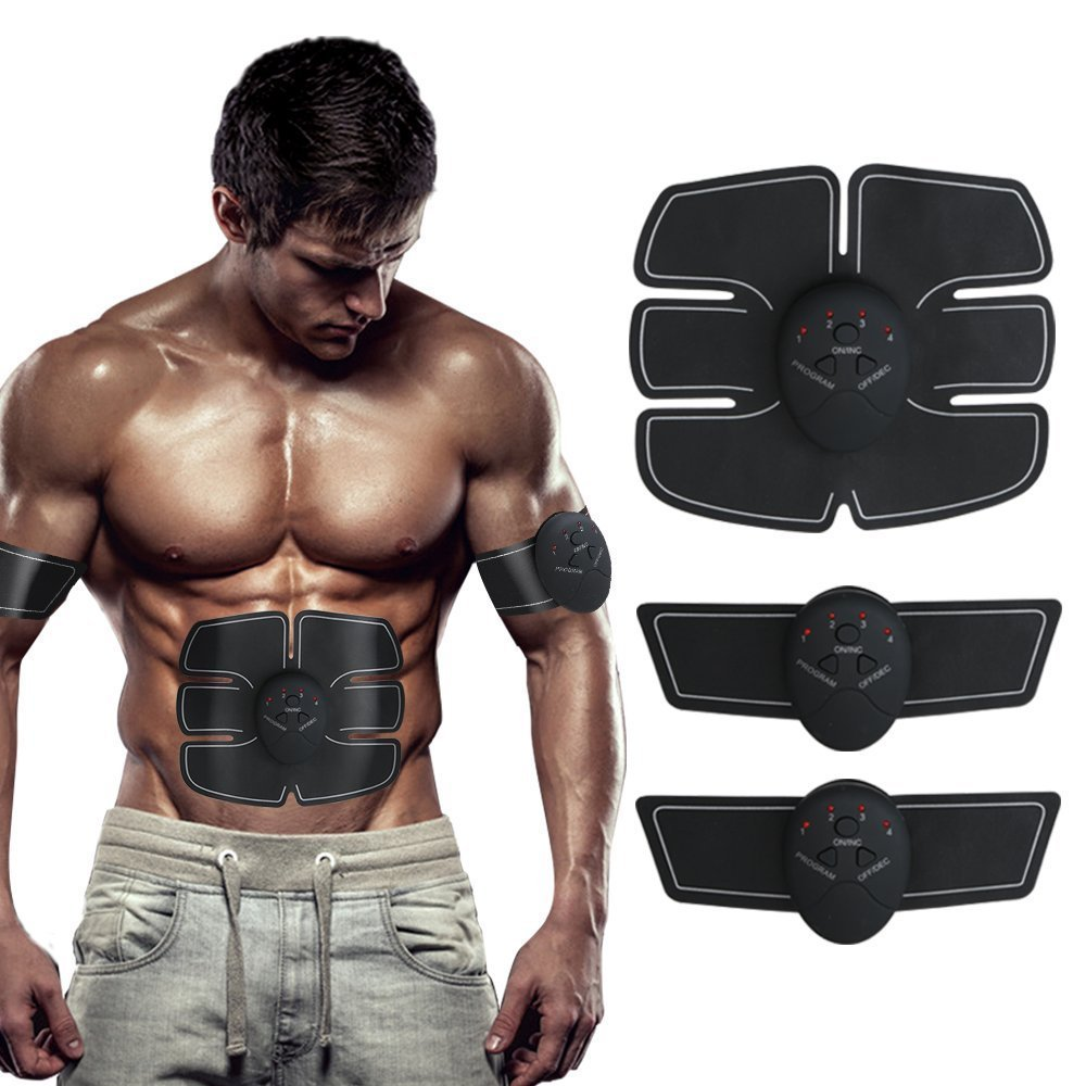 a050fe8c9 Abdominal Muscle Training Device Wireless Muscle Toning Belt Fitness Body  Slimming Massager ...