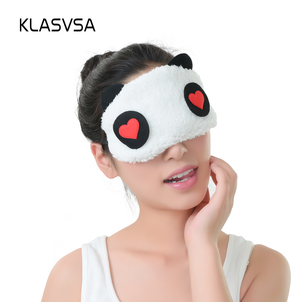 be755f790e0 KLASVSA Relaxing Cooling Or Heating Panda Sleeping Eye Sleep Masks ...
